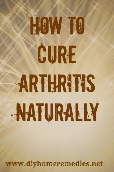 Can You Cure Arthritis Naturally