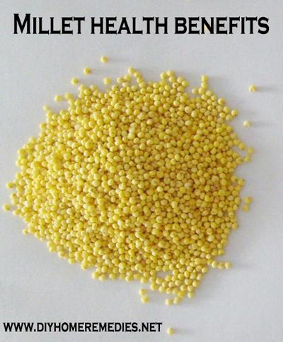 Millet health benefits - www.diyhomeremedies.net